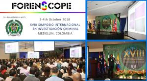 XVIII International Symposium of Criminal Investigation, Medellin, Colombia