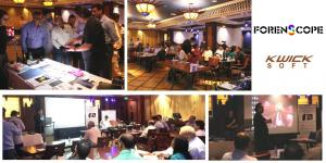 Forenscope team proceeded technical presentation and demonstration of Forenscope technololgies in New Delhi,India